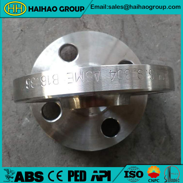 ANSI B16.36 Slip On Orifice Flange