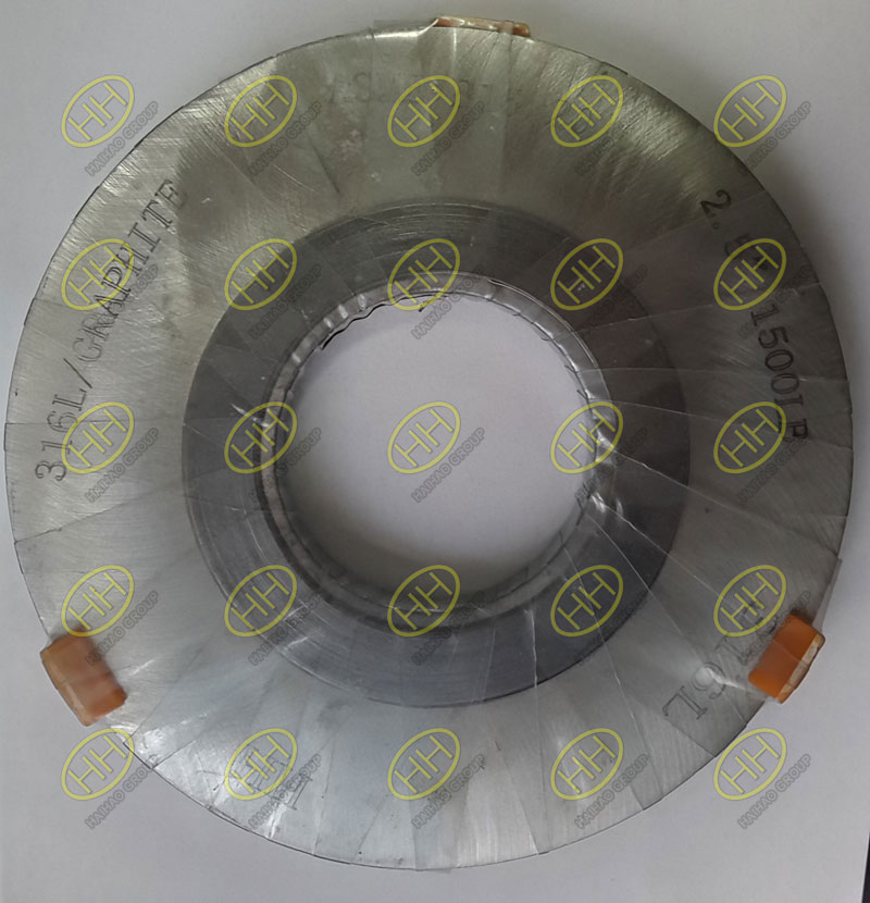 316L spiral wound gasket Finished in Haihaopiping Group