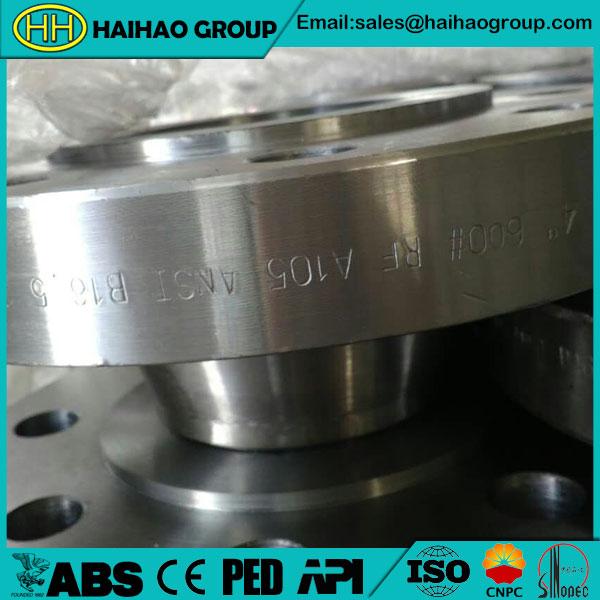 ANSI B16.5 A105 Weld Neck Flange