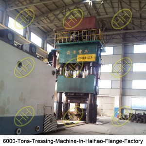6000-Tons-Tressing-Machine-In-Haihao-Flange-Factory