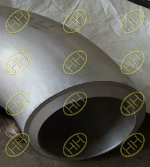 90D-LR-ASTM-A403-GR-WP316L-ASME-B169-Elbow-With-Bevel-End