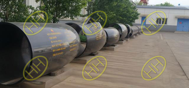 A860 wphy fittings for-CNPC oil pipeline burst testing