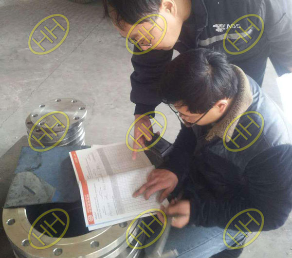 ABS Inspector visited Haihao Group and did the inspection