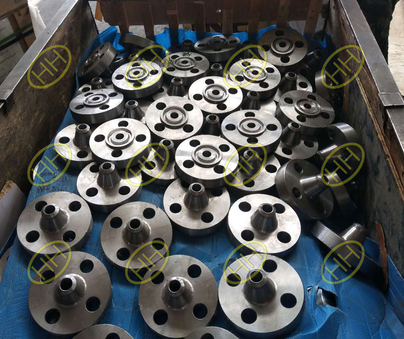 Haihao Group completed the weld neck flanges ordered by Mexican customer