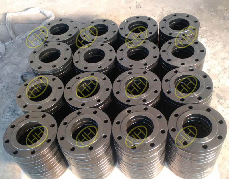 ANSI B16.5 A105 RF forged slip on flanges