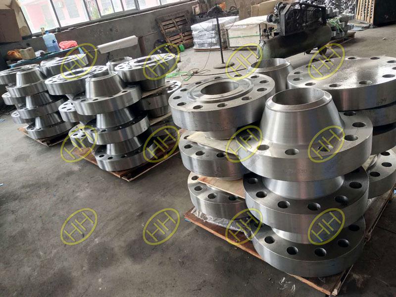 ASME B16.5 ASTM A105N RTJ weld neck flanges