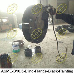 ASME-B16.5-Blind-Flange-Black-Painting