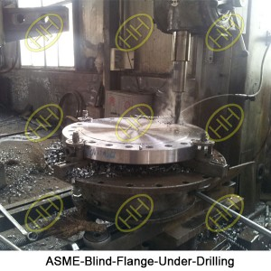 ASME-Blind-Flange-Under-Drilling