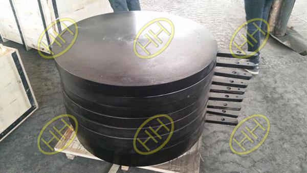 ASTM A105 ASME B16.48 spade flanges