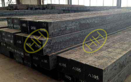 ASTM A105 raw material for steel flanges
