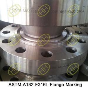 ASTM-A182-F316L-Flange-Marking