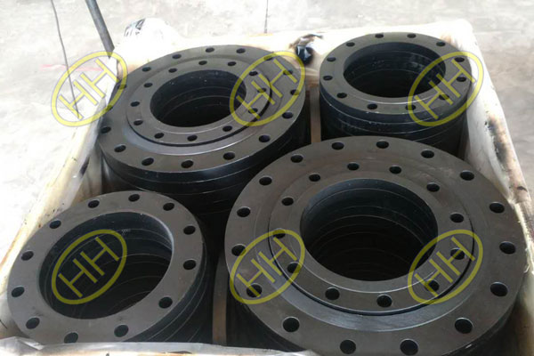 ASTM A350 LF2 Forged Plain Flanges In Haihao Flange Factory
