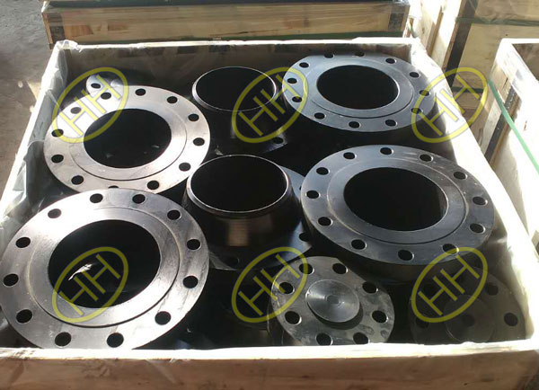 ASTM A350 LF2 Weld Neck Flanges In Haihao Flange Factory