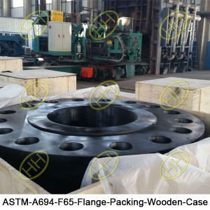 ASTM-A694-F65-Flange-Packing-Wooden-Case