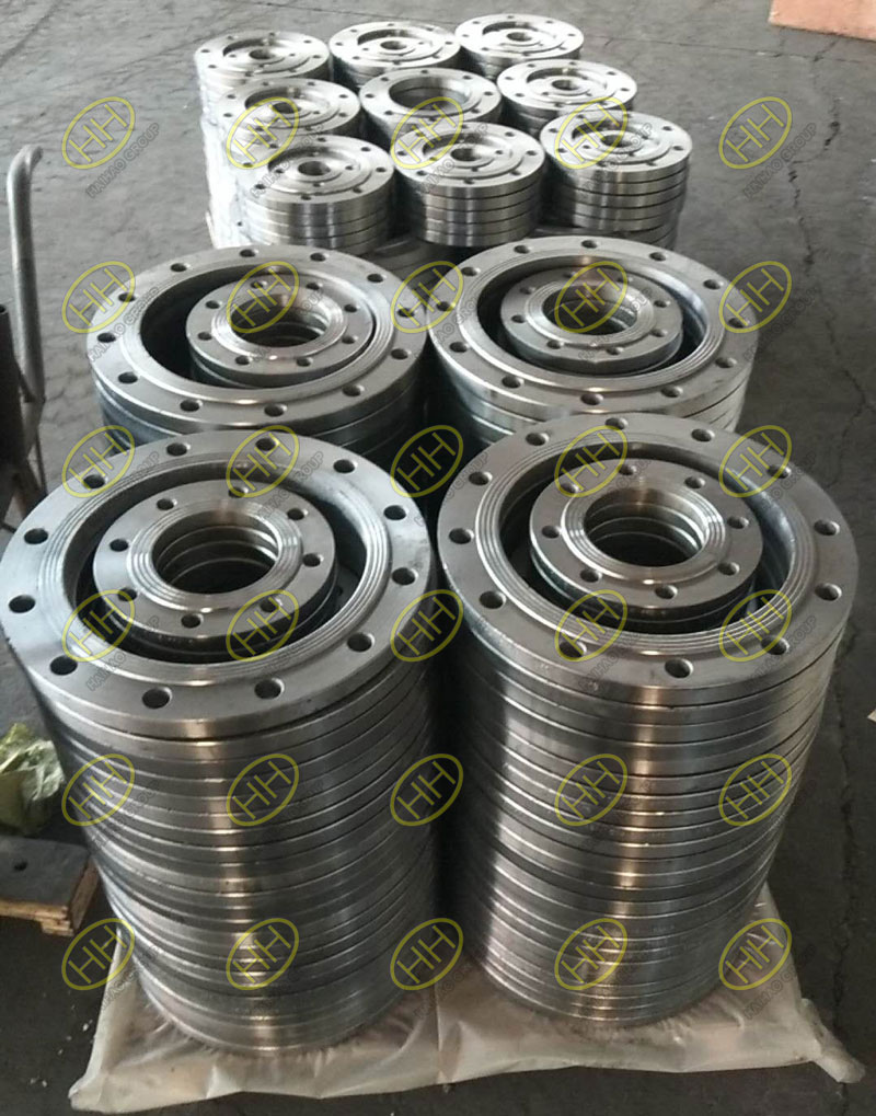 American standard slip on flanges finished in Haihao Group
