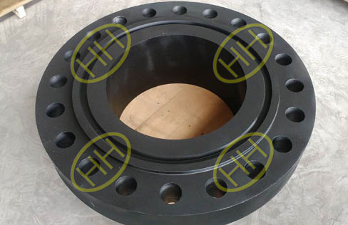 Carbon Steel RTJ Weld Neck Flange After NDT