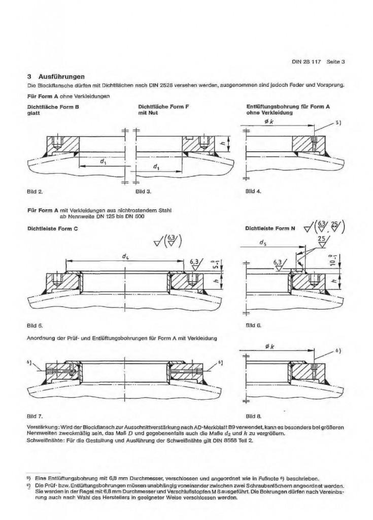 DIN-28117-Block-Flanges-PN10-PN40-DRAWING