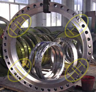 Finished ASTM A105N Steel Flange