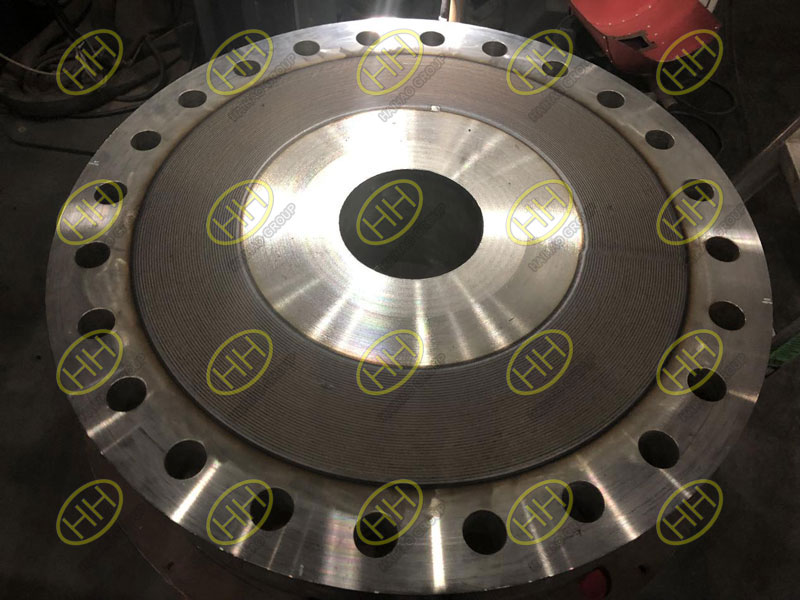 Finished overlay cladding flange by Haihao Group