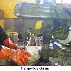 Flange-Hole-Drilling