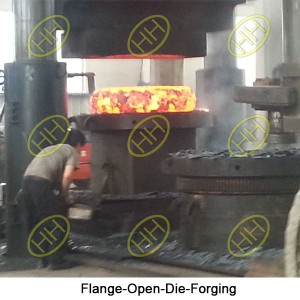 Flange-Open-Die-Forging