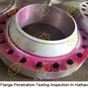 Flange Penetration Testing Inspection In Haihao
