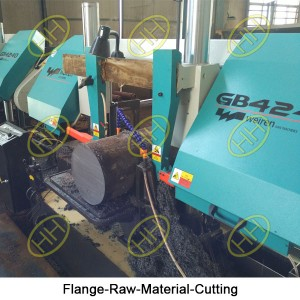 Flange-Raw-Material-Cutting