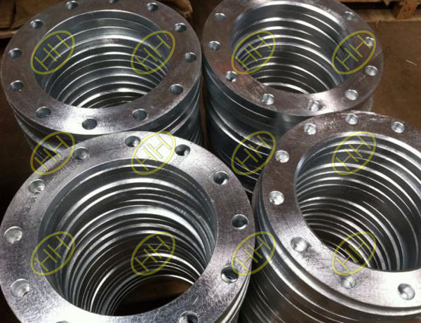 Galvanizing process and advantages of flange
