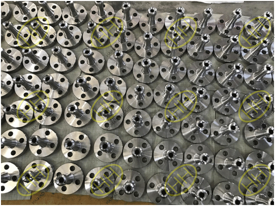 Flanged olets in Haihao Group