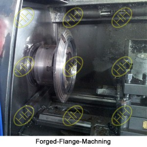 Forged-Flange-Machning