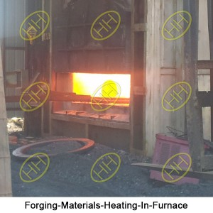 Forging-Materials-Heating-In-Furnace