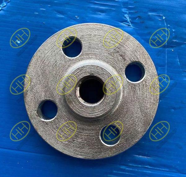 Galvanized threaded flange ASTM A105N