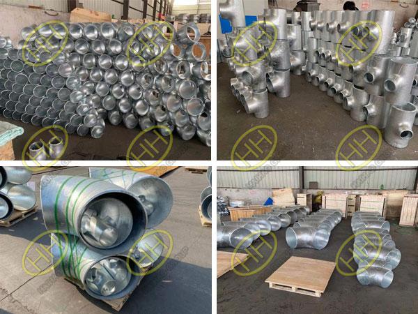 Hot dip galvanizing pipe fittings
