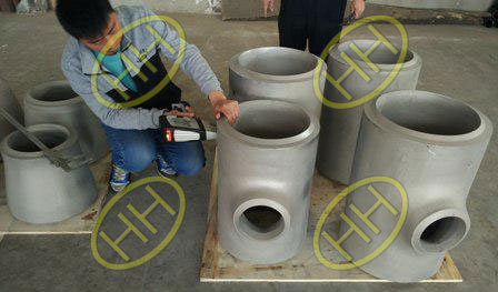 IBR CERTIFICATE HIGH PRESSURE PIPE FITTINGS PMI TEST IN HEBEI HAIHAO GROUP
