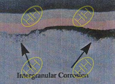 Intergranular Corrosion Microscopic Picture