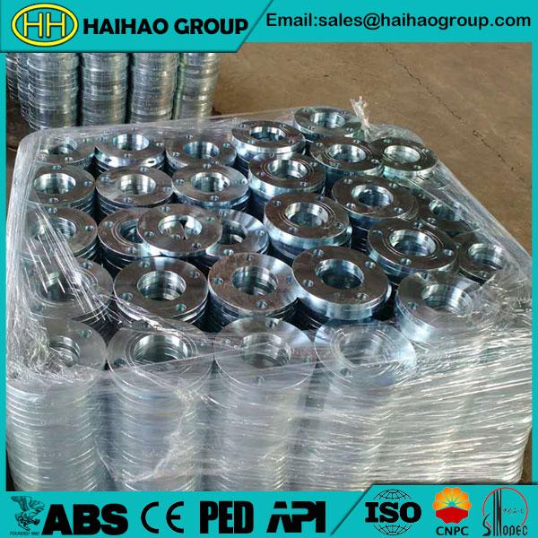 JIS B2220 5K Slip On Plate Flange In Haihao Group