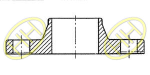 JIS B2220 Welding Neck Flange Drawing