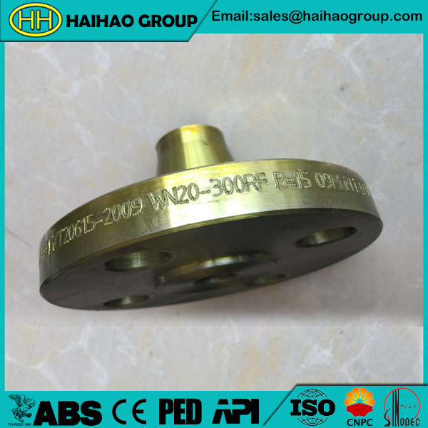 JIS B2220 Weld Neck Flange In Haihao Group