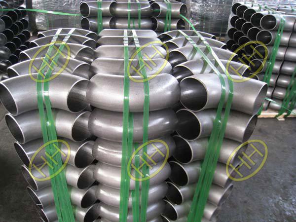 JIS B2311 standard carbon steel butt welding pipe fittings in Haihao Group