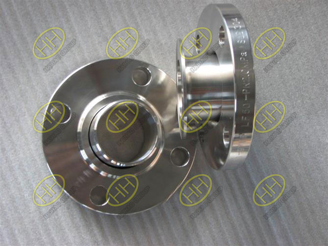 Lap joint flange or loose flange finished in Haihao Group