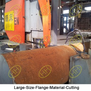 Large-Size-Flange-Material-Cutting