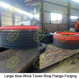 Large-Size-Wind-Tower-Ring-Flange-Forging