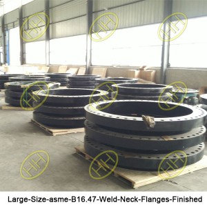 Large-Size-asme-B16-47-Weld-Neck-Flanges-Finished