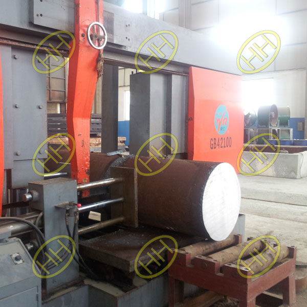 Material-Cutting-Flange-Production