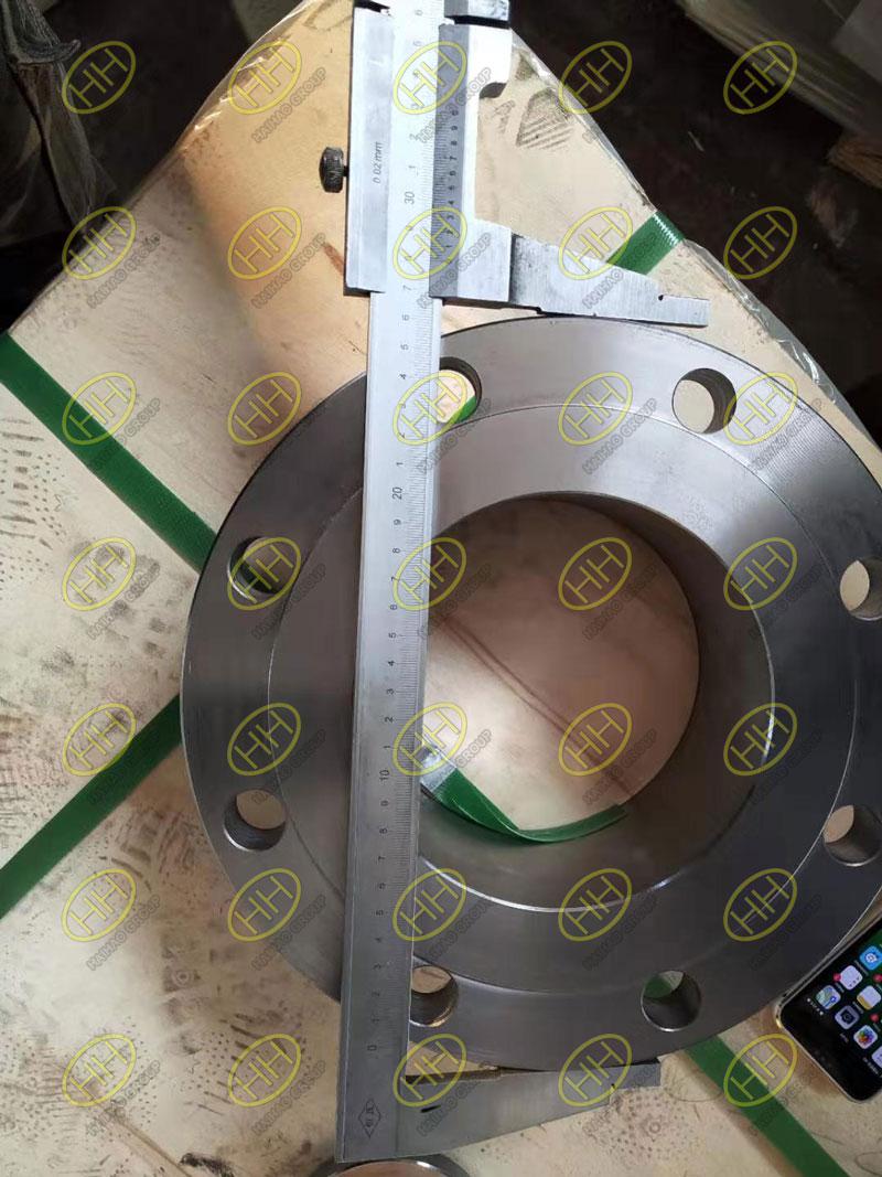 Measurement flange dimension