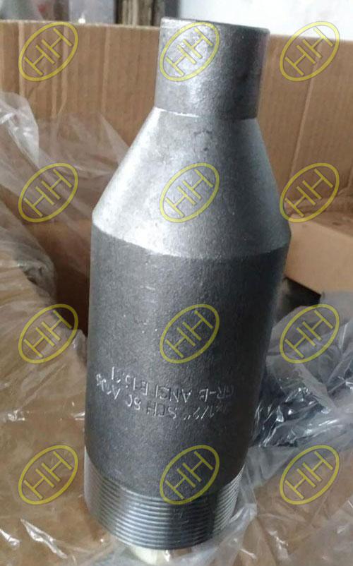 NPT-SCHXS-A234-WPB-ANSI-B16.11-Swage-Nipple