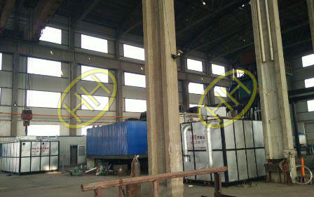New natural gas furnace in Haihao workshop