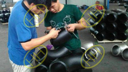 PIPE FITTING APPERANCE INSPECTION FOR IBR CERTIFICATE