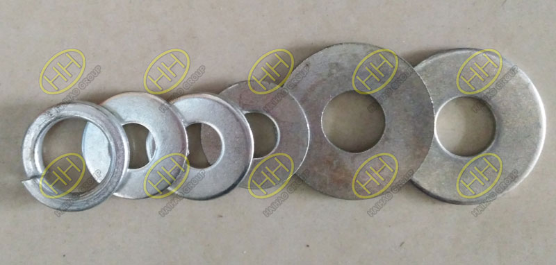 Plate washer and spring washer finished in Haihao Group
