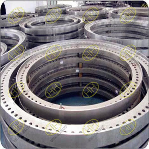 Q345E S355NL wind power flanges finished in Haihao Group
